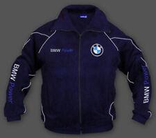 New Fleece Jacke BMW Power Sport Herren Fan Gestickt Bekleidung Gr. S-XXXL