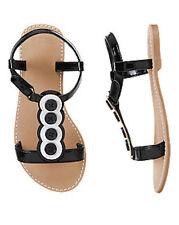 NWT Gymboree Daisy Park Button Sandals Shoes 9 10 11 12 13 1 2 Girls