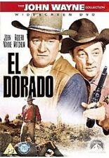 El Dorado DVD John Wayne Robert Mitchum Original UK Release Brand New Sealed R2