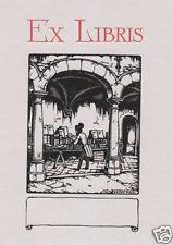 EX LIBRIS BOOKPLATE DI ANTON PIECK