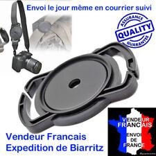 PORTE BOUCHON D'OBJECTIF 40,5 mm HAUT DE GAMME SUR COURROIE CANON NIKON PENTAX
