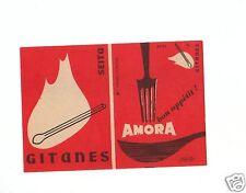 Ancienne étiquette paquet Allumette France Amora