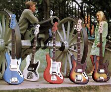 196318 Fender Jazz Bass Guitars Wall Print Poster CA