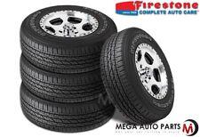 4 X New Firestone Destination LE 2 P235/65R18 104T OWL All Season Tires