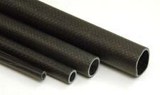 FIBRA DI CARBONIO TUBO 8mm,12.5 mm, 18 mm,25 mm,30 mm do 1,8 m di lunghezza
