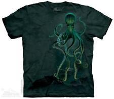 Octopus on Ocean Bottom The Mountain T-Shirt (2282) All Sizes