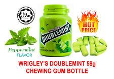Wrigley's Doublemint Wrigleys Chewing Gum Bottle Original PEPPERMINT Flavor NEW