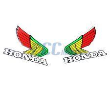 HONDA Wings Decal Sticker ATV Motocross Buggy Bike TRX CRF M DE47