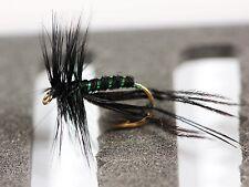 BLACK HOPPER CRANE FLY Dry Trout Fishing Flies various options