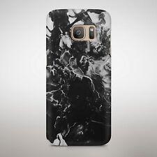 Peinture noire Splash poudre Explosion peinture texturée Téléphone Étui Housse