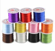 100M 1 Reel Crystal Elastic Stretch Beading Thread Cord String  Jewelry Making