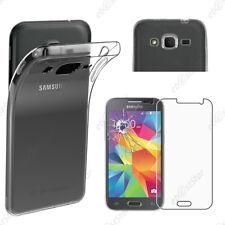 ebestStar Coque Transparente Samsung Galaxy Grand/Core Prime/Plus + VERRE Trempé