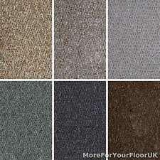 Cheap Berber Loop Carpet Hardwearing Flecked Look Felt Backing Stairs Hall