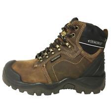 Buckler BSH009BR Waterproof Anti-Scuff Safety Work Boots Brown LAST FEW Black