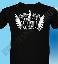 Rockabilly camiseta The Estilo 50s Rock And Roll El Salto Drive Thru De Fiftie