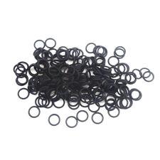 100PCS Black Nitrile butadiene O Rings Sealing Rubber Gaskets OD 4-24 mm *1.5mm