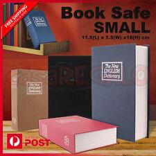 Dictionary Small Book Safe Box Secret Security Cash Money Jewellery Locker