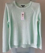 EILEEN FISHER~ ARORA Round Nk Organic Linen/Cot Slub Top Size PM Retail $168 NWT