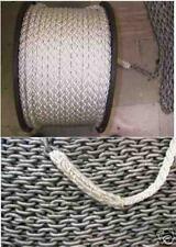 14mm x 100M 8 Plait Square Laid Nylon Rope + 10Mtr 8mm Chain