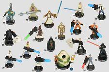 Star Wars Series 3 Attacktix figures 19 thru 35 HASBRO  w//weapons