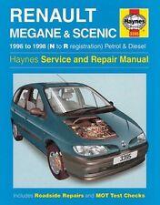 Haynes Owners + Workshop Car Manual Renault Megane + Scenic Petrol + Diesel 3395