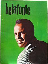 Harry Belafonte 1965 Us Tour Concert Program Calypso!