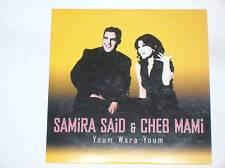 RARE CD PROMO/ SAMIRA SAID & CHEB MAMI /YOUM WARA YOUM