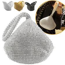Luxury Full Rhinestones Lady Evening Party Mini Clutch Wedding New Handbag Purse