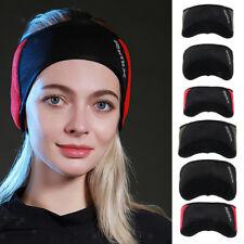 Winter Earmuffs Stretchy Headband Sports Fleece Ear Warmer Reflective Safety