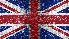Union jack drapeau grande-bretagne royaume-uni autocollant auto adhésif