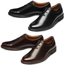 GADAE Mens Faux Leather Shoes Whole Cut Plain Toe Oxford Dress Shoes 505 CA