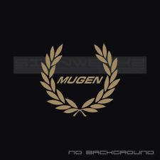 Mugen Racing Wreath Decal Sticker logo Type R Civic Integra Accord JDM Pair