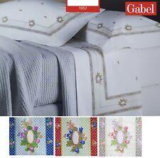 GABEL secrets. Ensemble Literie 17981 in Percale Coton 80 fils. Double