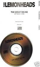 LEMONHEADS Great Big No PROMO CD Single Evan Dando 1993