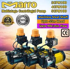 Marro Multi Stage Water Pump High Pressure Rain Tank Auto Garden Irrigation
