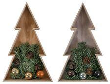 3D led-holz-weihnachtsbaum 28cm Arbre de Noël sapin noël décoration de table