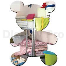 ours en peluche Miroir acrylique pour enfants décoration chambre à coucher -