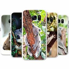 Australian Koala Snap-on Hard Back Case Phone Cover for Samsung Mobile Phones
