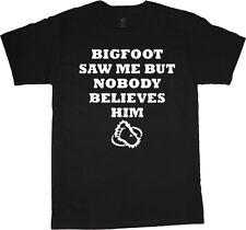 Big man shirt funny saying Bigfoot yeti plus size tall tee 2X 3X 4X 5X 6X 7X 10X