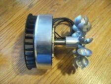 PMA Generator ME1112 Pelton Wheel Water Power 0-240 VAC 4000 Watt Micro Hydro