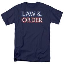 Law & Order Logo NBC TV Show T-Shirt Tee