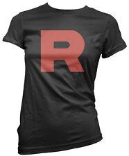 R Team - Rocket Motto Anime Womens T-Shirt