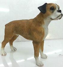 Boxer Dog Ornament Figurine Statue Figure Gift by Leonardo New Boxed