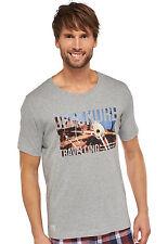 Schiesser Men's Mix & Relax Short Sleeve T-Shirt 50-66 M-7XL Leisure Shirt