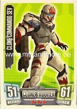 Clone Commando Sev #037 - Force Attax Serie 2