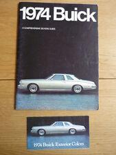 BUICK ELECTRA CENTURY LE SABRE APOLLO  brochure 1974 jm