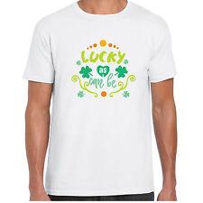 LUCKY AS compatible - T-shirt chemise - Jour de la St Patrick IRLANDAIS Trèfle