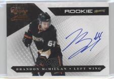 2010 Panini Luxury Suite #146 Rookies Group 3 Brandon McMillan Auto Hockey Card