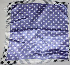 Square Women Thin Neck Scarf 25''x 25'' 12 patterns Summer Fashion