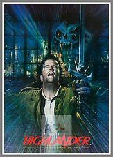 Highlander      1980's Movie Posters Classic Cinema